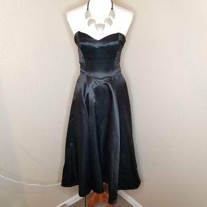 Black Sweetheart Strapless Prom Dress